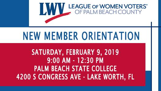 2019 New Member Orientation