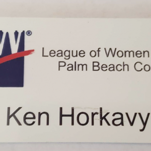 League Name Tag-front