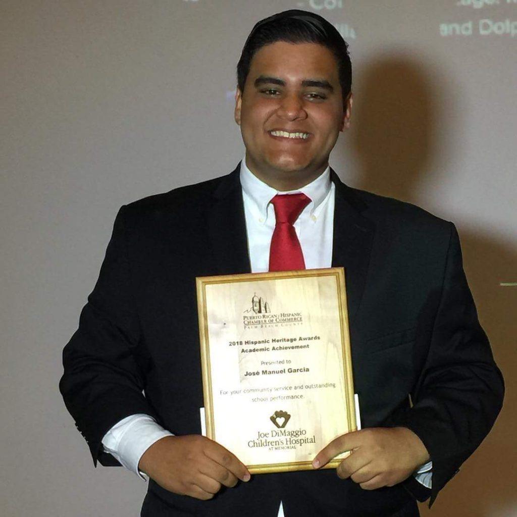 Intern Jose Garcia