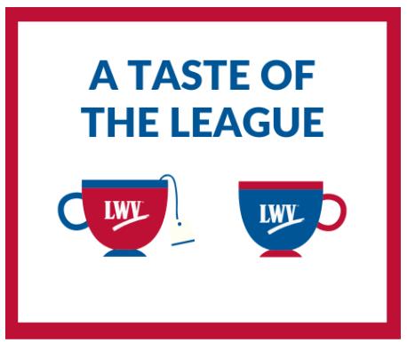 a taste of the League