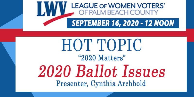 September 2020 Hot Topic