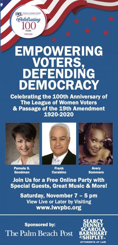 LWVPBC Centennial Poster