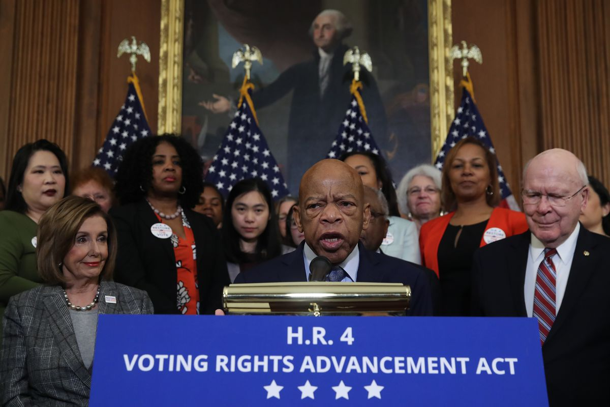 H.R.4, The John Lewis Voting Rights Advancement Act