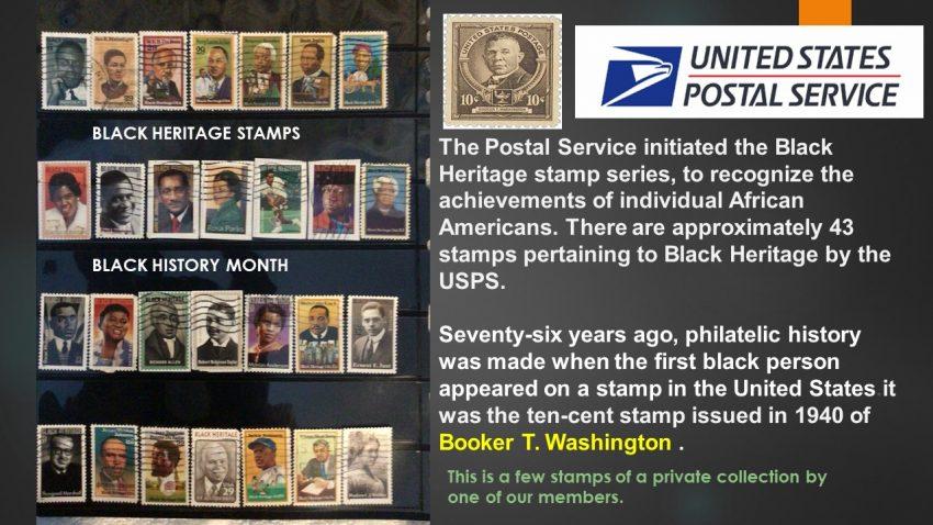 Black Heritage Stamps