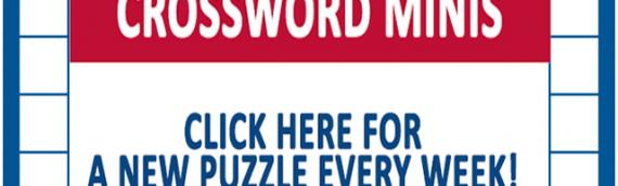 Weekly MINI Crossword Puzzles