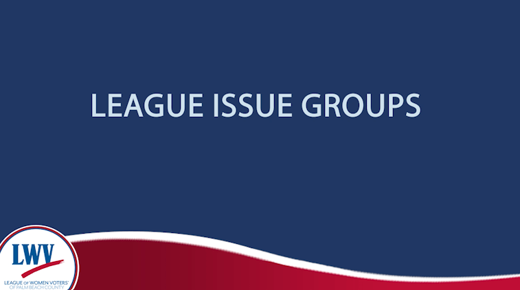 League Issue Groups
